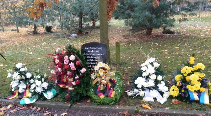 Zum Volkstrauertag auf dem Südfriedhof